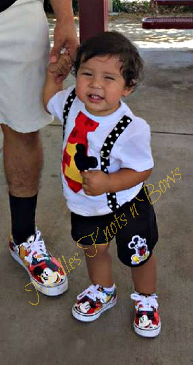 Boys First Birthday T Shirt Boys Mickey Mouse Birthday Tshirt Birthday Shirt Boys Mickey Mouse Tshirt Sold By Needles Knots N Bows On Storenvy