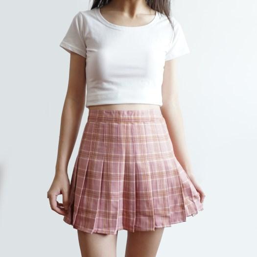 Plaid Tennis Skirt (3 Colors) · Megoosta Fashion · Free ...
