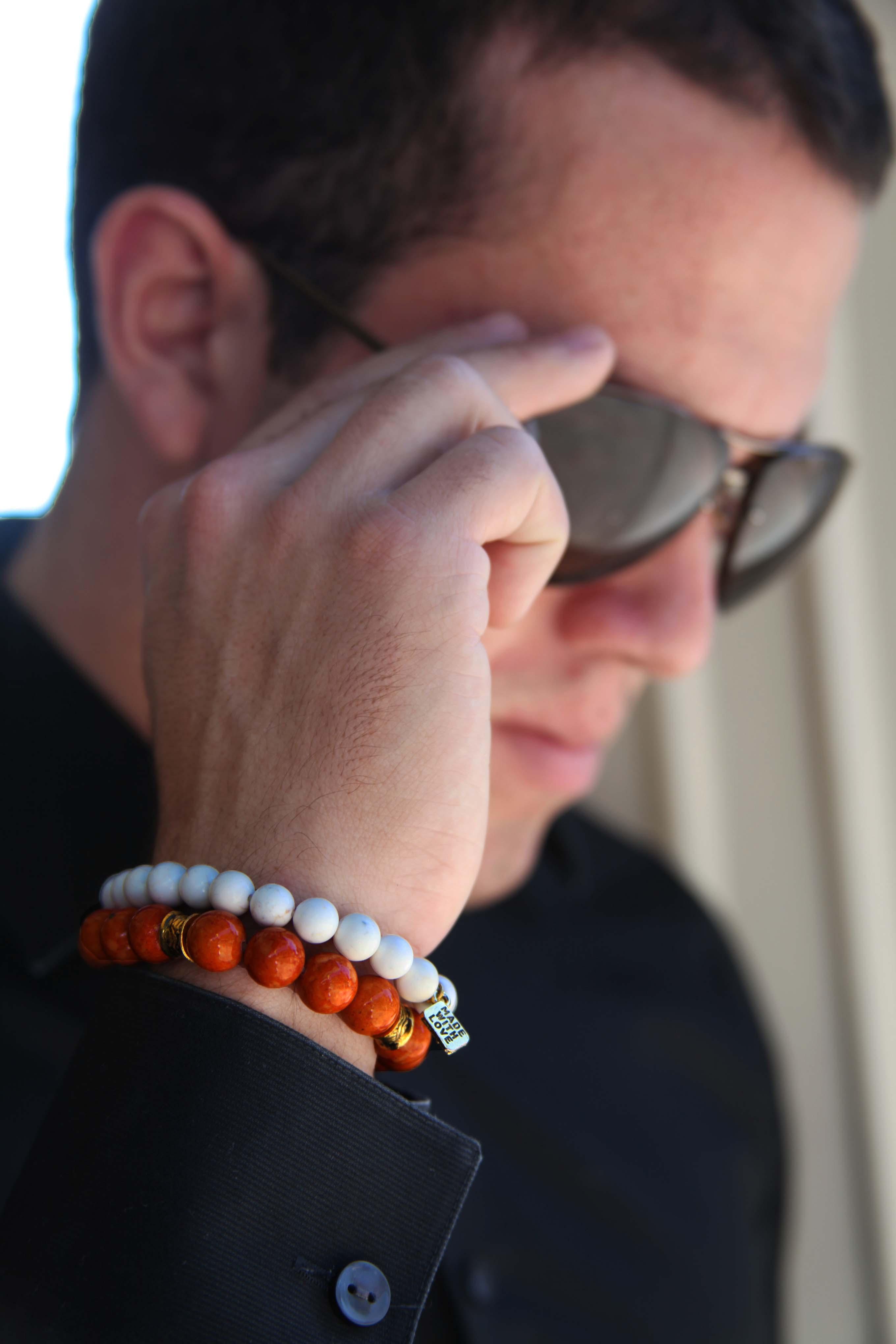 Riverstone Gemstone Bracelet oyindoubara