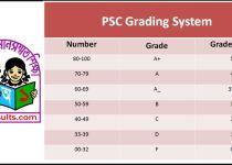PSC Grading System 2018