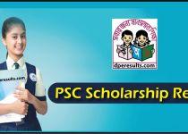 PSC Scholarship Result 2019