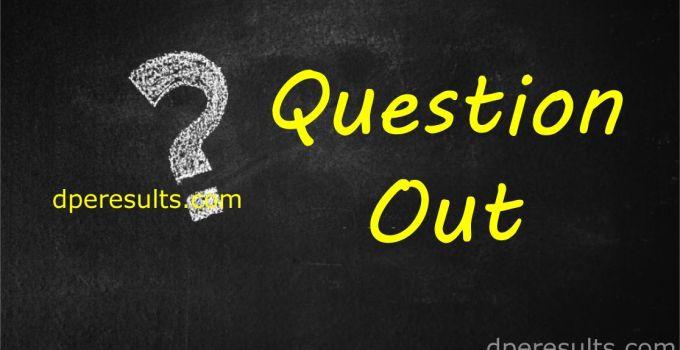 PSC Question Out