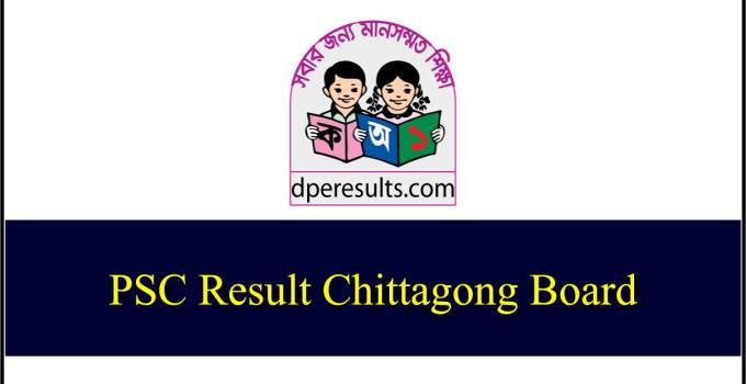 PSC Result 2019 Chittagong Board