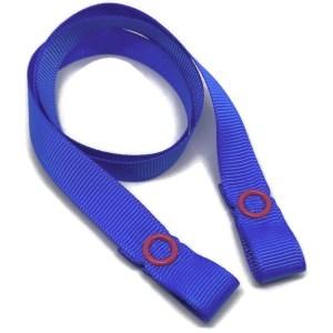 blue mask strap