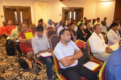 Participants at the National Consultation on the proposed draft regulation for Occupational Health and Safety in the manufacturing sector