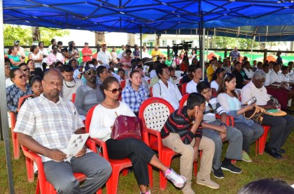 A section of the audience at the launching