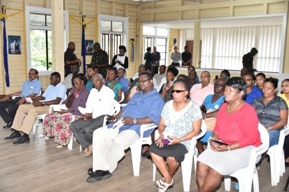 Members and staff of the Guyana Public Service Union