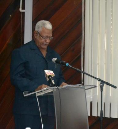 Minister Holder while delivering his remarks at the ADRM Workshop  .JPG-june16