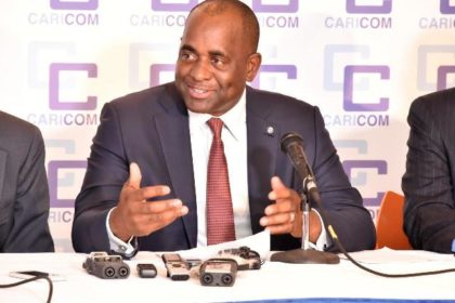 Chairman of the Conference of the Heads of Government of the Caribbean Community and Prime Minister of Dominica, Hon. Roosevelt Skerrit