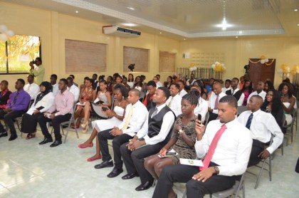 Recently graduated youths of the Youth Leadership Training Programme