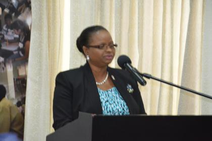 Minister of Social Protection, Ms. Volda Lawrence highlighted the various initiatives that her Ministry is undertaking to assist teenagers in Guyana