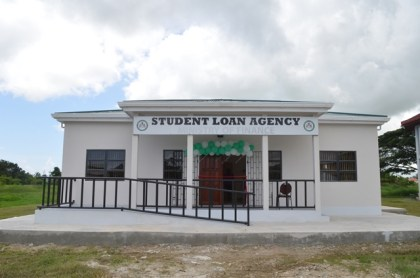 The Student Loan Agency at the University of Guyana, Turkeyen