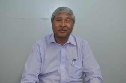 Errol Hanoman, Chief Executive Officer of the Guyana Sugar Corporation
