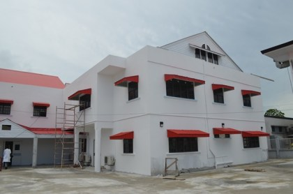 The new maternity wing to be completed at the Georgetown Public Hospital Corporation