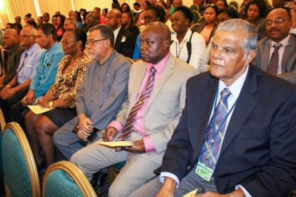 A section of the stakeholders at the opening of the CARICAD meeting