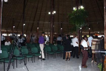 An interior view of the Umana Yana