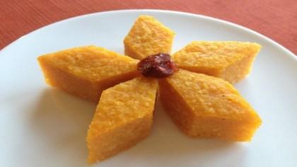 Guyanese pumpkin pone
