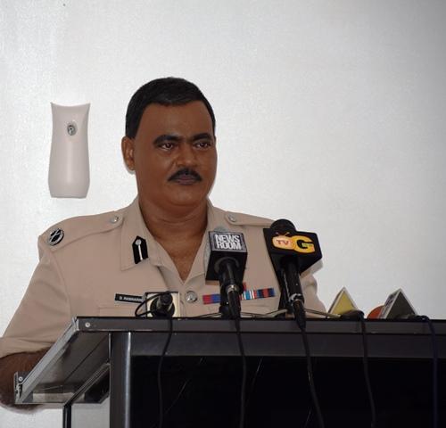 Acting Police Commissioner, David Ramnarine