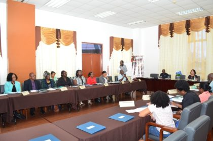 Representatives at the high-level policy dialogue on adolescents and youths