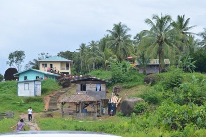 The community of Warapoka, Moruca Sub-district, Region One.