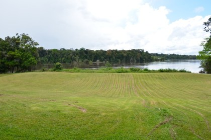 A view of the Essequibo River from the Iwokrama International Centre for Rainforest Conservation and Development