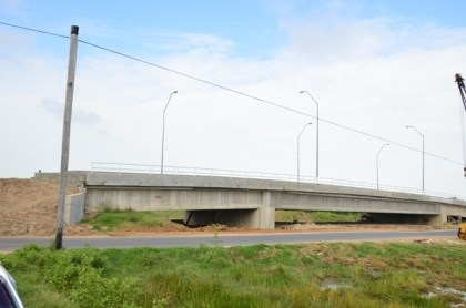 Hope Canal Bridge soon after it was built