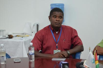 Guyana Water Incorporated's, Region Three, Divisional Manager, Martin Garrick