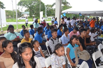 Youths at the recently observed International Youth Day