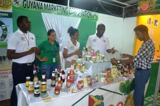 GMC booth at the Berbice Expo