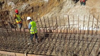 Ongoing works in Mahdia, Region Eight
