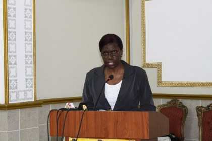 Permanent Secretary of the Ministry of Education, Delma Nedd