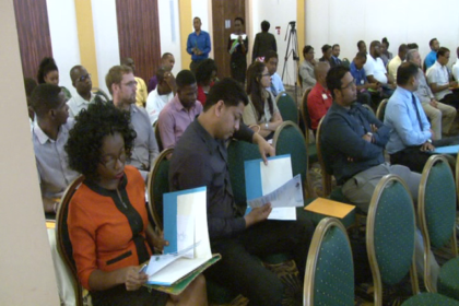 Participants at the National Workshop on Energy Efficiency