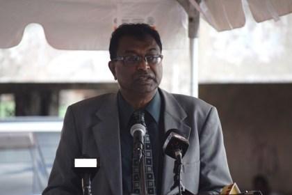 Public Security Minister, Khemraj Ramjattan