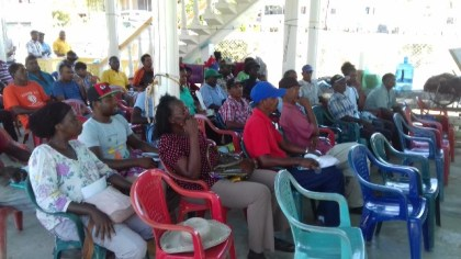 A section of the persons in attendance at the seminar