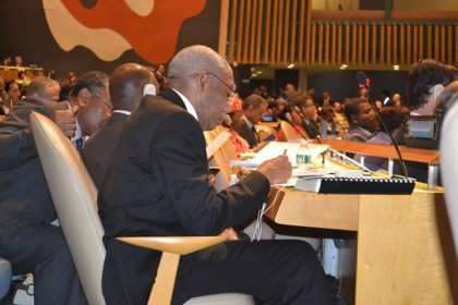 President David Granger at the High-level Summit on Refugees and Migrants