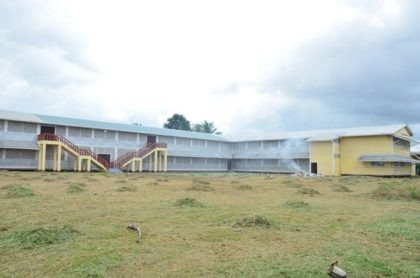 New location where the Brickdam Secondary School students will be housed