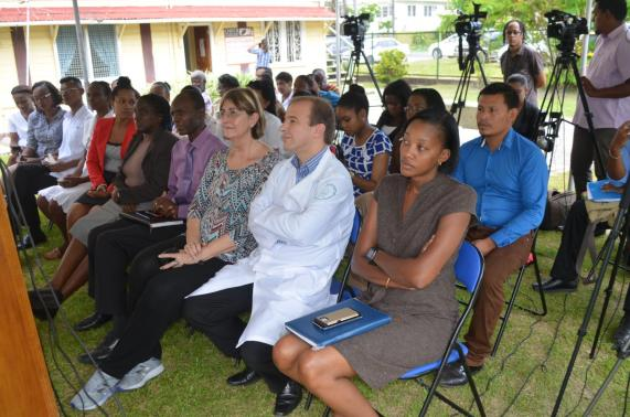 A section of the participants at the Leprosy training programme