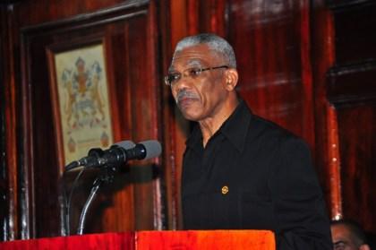 President, David Granger