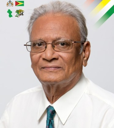 Minister of Education Dr. Rupert Roopnaraine