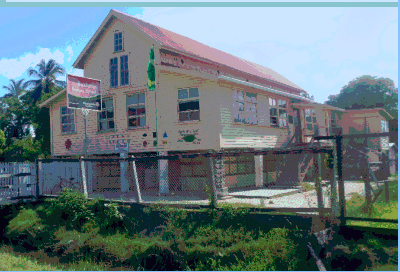 The soon to be closed Buxton Primary School, East Coast Demerara