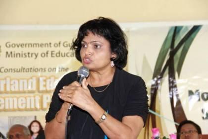 The new Coordinator of Private Schools, Doodmattie Singh