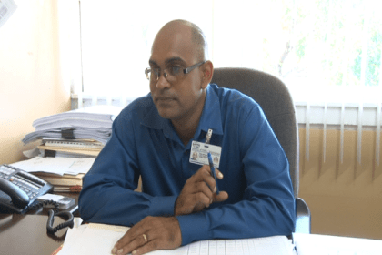 Ministry of Public Infrastructure's Chief Roads and Bridges Officer, Ron Rahaman