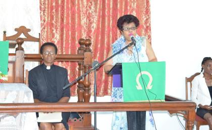 Minister of Social Cohesion, Ms. Amna Ally said that her Ministry is willing to provide assistance to churches in the Mocha/Arcadia community in order to help host programmes that would foster social cohesion in the area