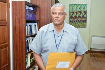 Major General Ret'd Joe Singh, MMS gives brief remarks on his role as Head of Inquiry into the Guyana National Broadcasting Association (GNBA) Board allegations.