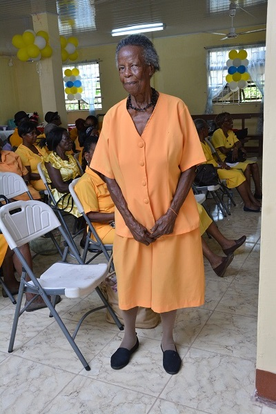 Eighty-three-year-old Sister Venus Parris, boldly asked our photographer to take her picture