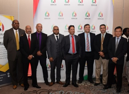 Founding members of the board of the Guyana Oil and Gas Association.