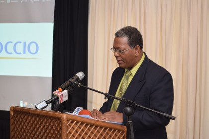 Development Director, CARIFORUM, Eugene Petty