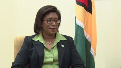 Hon. Catherine Hughes, Minister of Public Telecommunications
