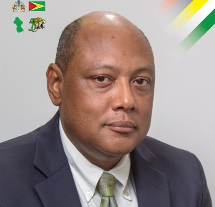 Minister of Natural Resources Hon Raphael G. C. Trotman