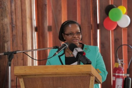 Minister of Social Protection, Ms. Volda Lawrence, spoke extensively on issues that are affecting young women across Guyana at the launch of the 2016 State of the World Population Report.